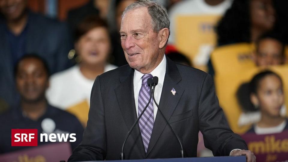 US-Präsidentschaftswahlkampf - Bloomberg im Kreuzfeuer