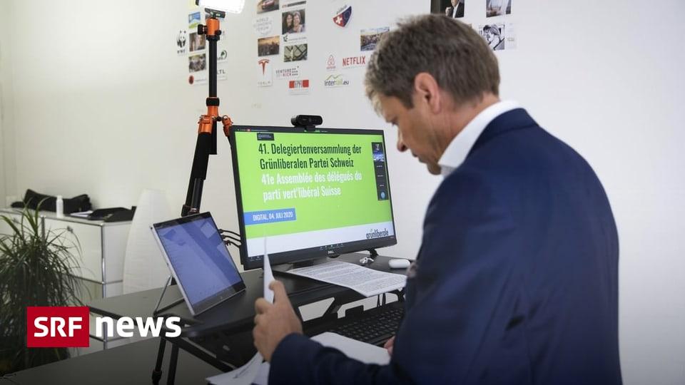 Digitale Versammlung - Grünliberale lehnen «Begrenzungsinitative» klar ab