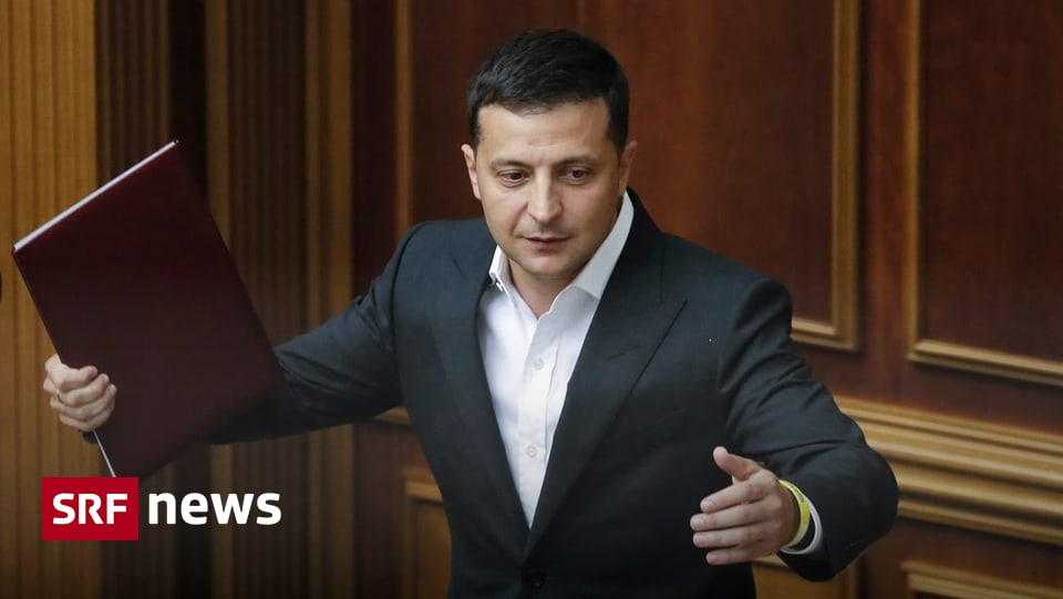 Ukraine vor massiven Reformen – «Selenski will vom ersten in den fünften Gang schalten»
