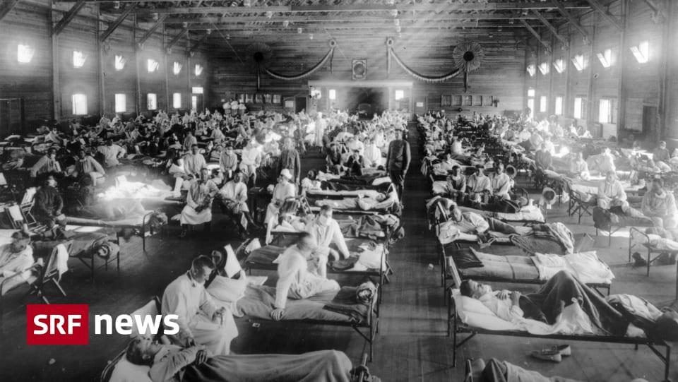 Vergleich zur Pandemie 1918 - «Damals kannte man den Erreger nicht»