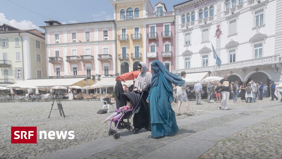 Umsetzung der Burka-Initiative - Verhüllung an öffentlichen Orten soll mit Busse geahndet werden
