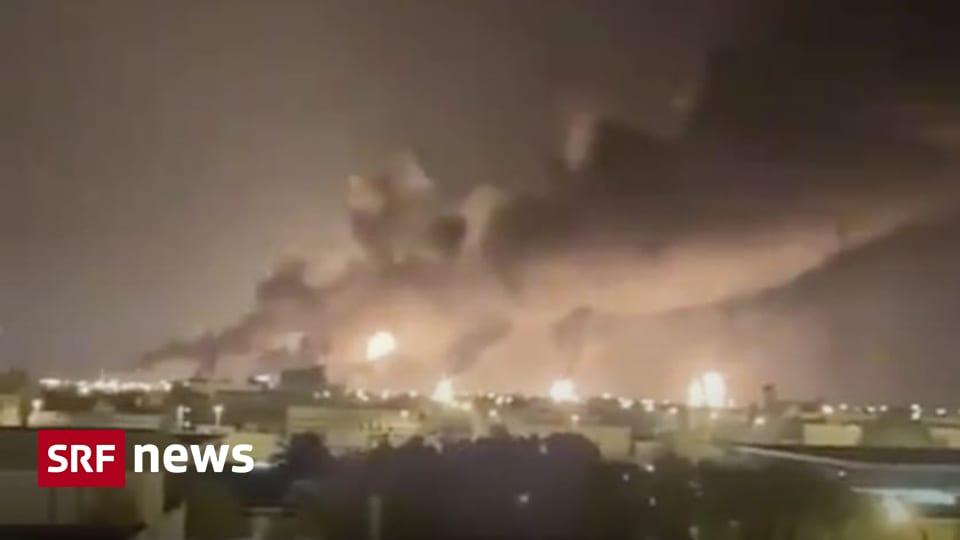 Angriff auf Saudi-Arabien - Ölproduktion eingebrochen