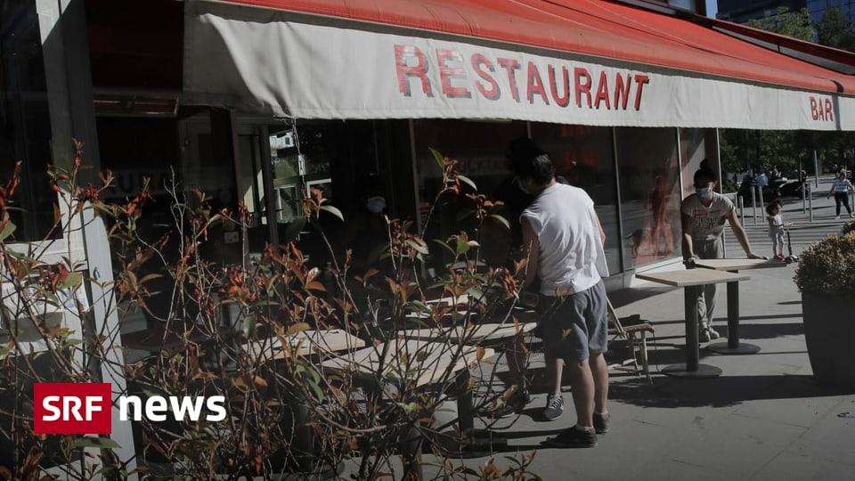 Lockerungen in Frankreich - «Die Leute haben Cafés und Bars extrem vermisst»