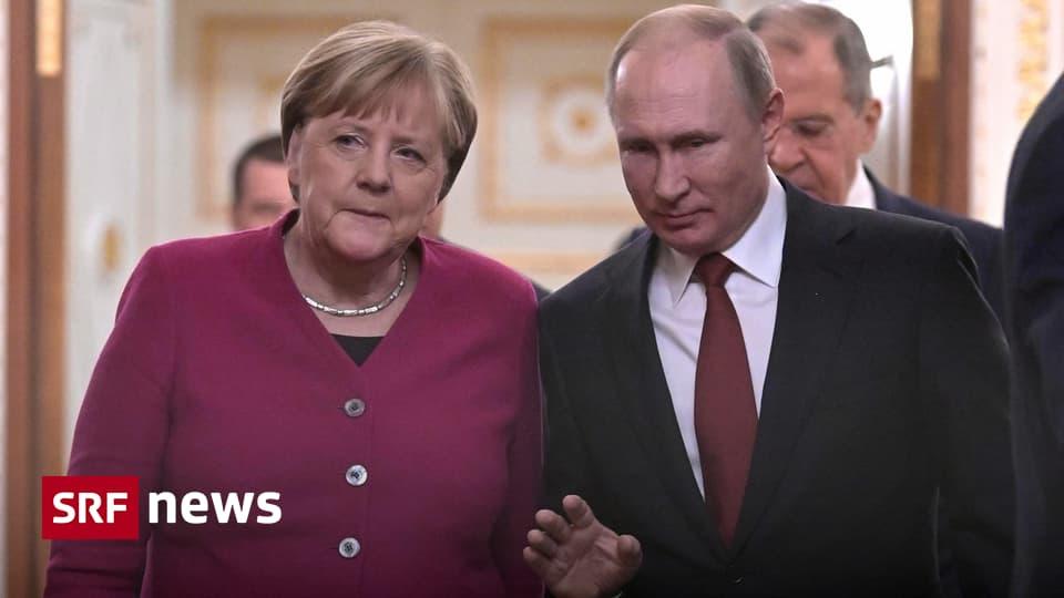 Merkel bei Putin in Moskau – Libyen, Syrien und der Iran im Zentrum der Gespräche