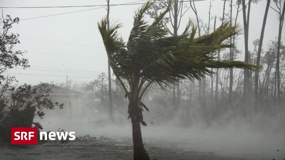 Hurrikan verharrt auf Bahamas – «Dorian» schwächt sich ab, bleibt aber gefährlich