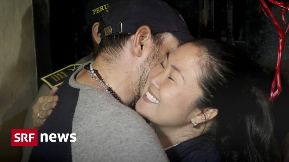 Tochter von Alberto Fujimori - Keiko Fujimori aus Gefängnis entlassen