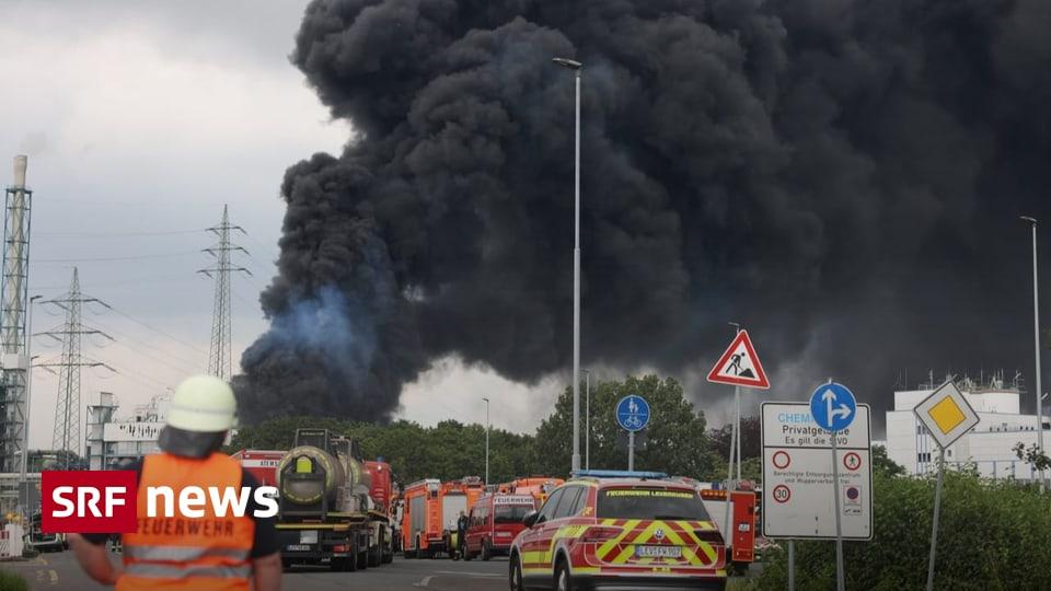 Brand bei Chemieanlage - Verherrende Explosion in Leverkusen fordert ein Todesopfer