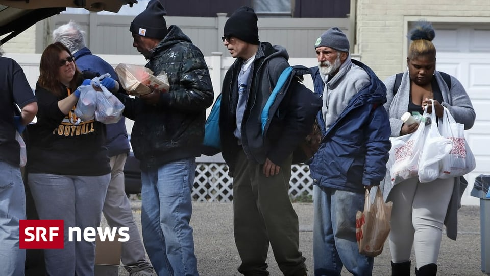 Arbeitslos wegen Coronavirus - Millionen Amerikaner sind bereits in Not geraten