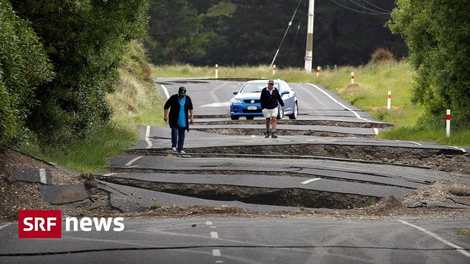 Panorama Enorme Zerstorung Erdbeben Und Dutzende Nachbeben In Neuseeland News Srf