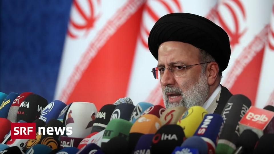 Pressekonferenz nach Wahlsieg - Irans neuer Präsident lehnt Treffen mit Biden ab
