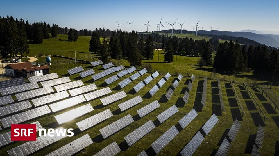 Anpassung des Energiegesetzes – Elcom ruft nach mehr Sonnenstrom im Winter – News