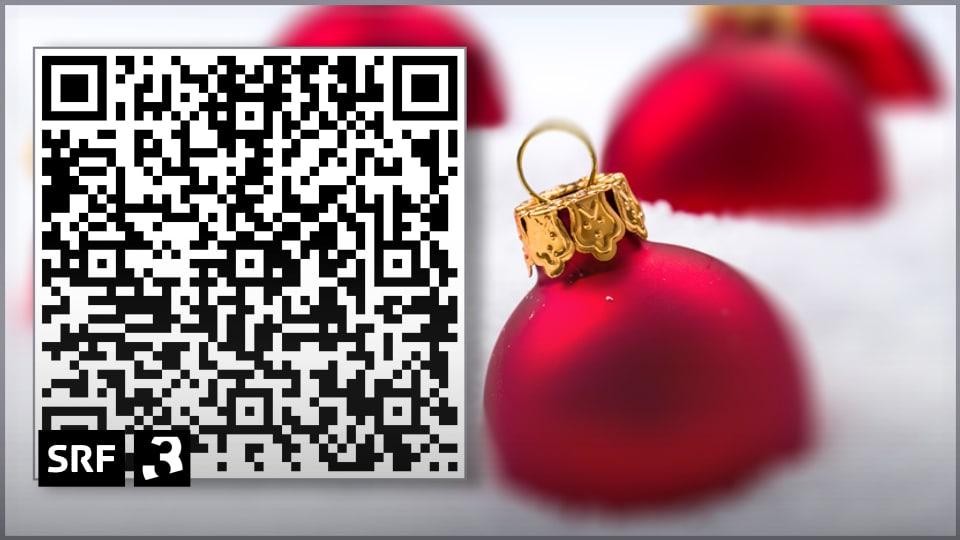 digital qr code quadratische weihnachtsw nsche radio srf 3 srf