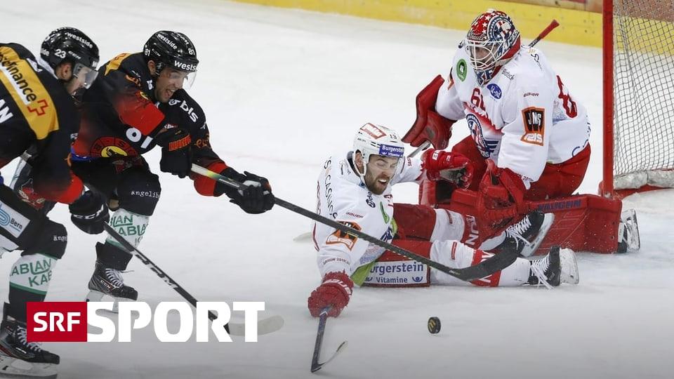 Playoff-Kampf in der NL - Bern wendet Niederlage ab und nähert sich dem Strich