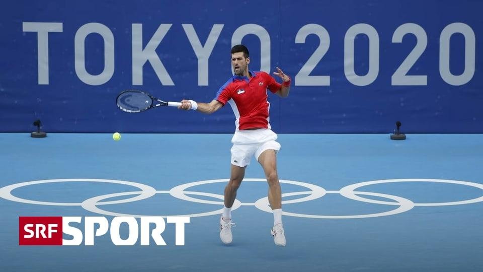 Olympische Tennis-News - Djokovics nächster lockerer Sieg – Frauen-Feld lichtet sich