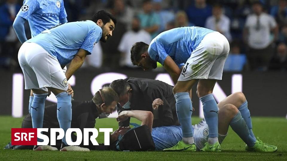 Internationale Fussball-News - De Bruyne mit Knochenbrüchen im Gesicht