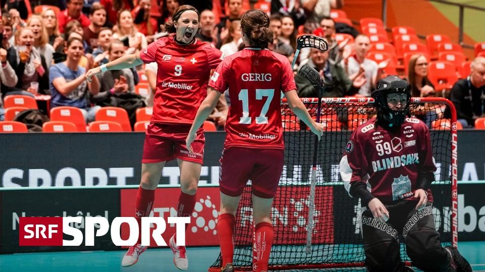 10:4-Sieg gegen Lettland - Nati wird Favoritenrolle gerecht und steht im WM-Halbfinal