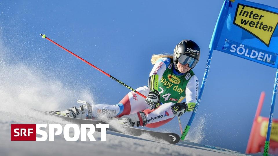 1. Riesenslalom des Winters - In Sölden ist Gut-Behrami wohl noch der einzige Schweizer Trumpf