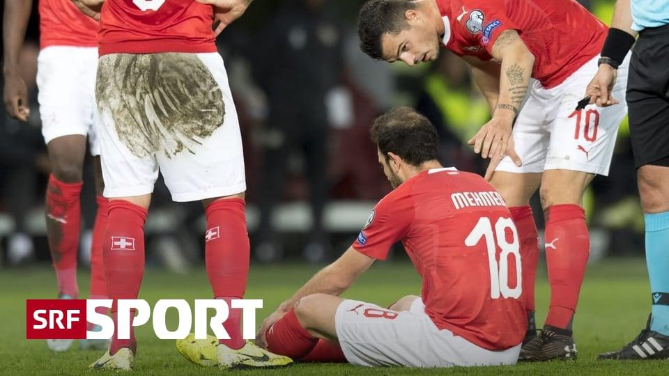 In Quali-Spiel gegen Irland - Mehmedi mit Muskelfaserriss