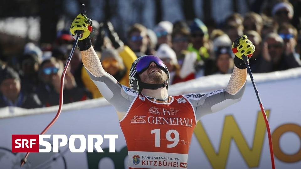 Mauro Caviezel wird Vierter - Jansrud gewinnt erstmals den Super-G in Kitzbühel
