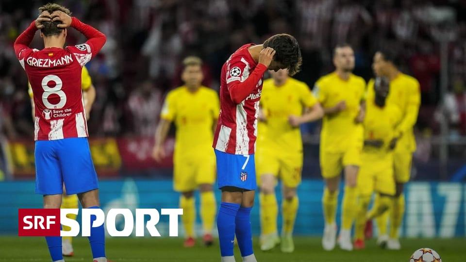 Round-up Champions League - Geführt, gelitten, gewonnen: «Reds» siegen bei Atletico