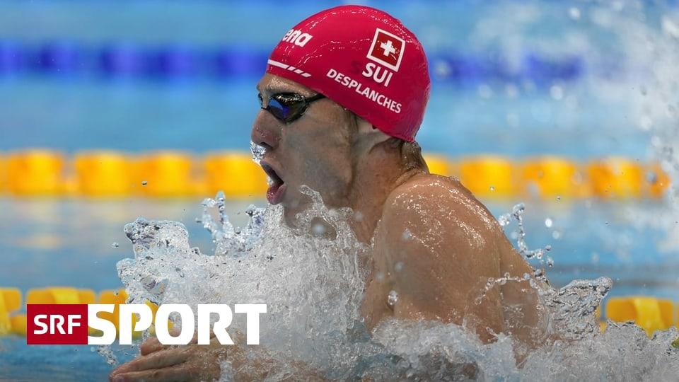 Letzte Vorläufe in Tokio - Jérémy Desplanches schwimmt souverän in den Halbfinal
