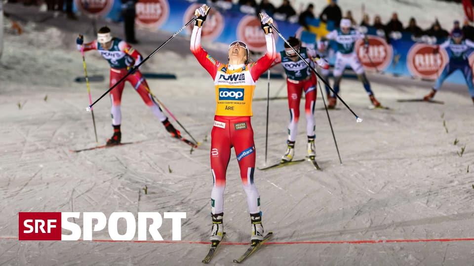 3. Etappe der FIS Ski Tour - Johaug erstmals im Sprint erfolgreich – Fähndrich starke 5.