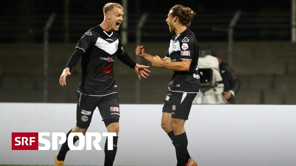 1:0-Erfolg der Tessiner - Lugano hält die Festung Cornaredo auch gegen St. Gallen