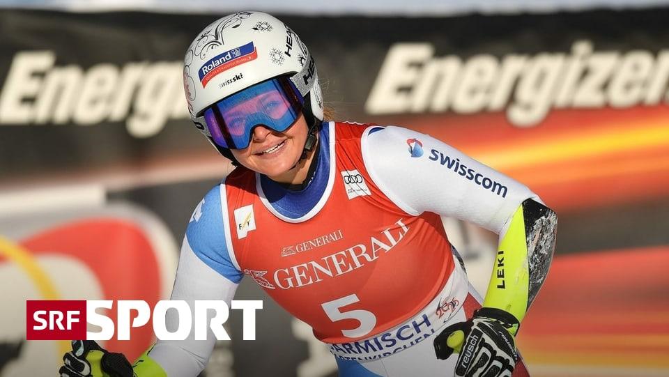 Super-G in Garmisch - Schweizer Festspiele auf der «Kandahar»