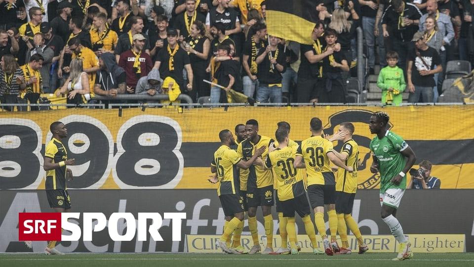 2:1-Erfolg gegen St. Gallen - Berner Schnellstarter zittern sich zum Sieg