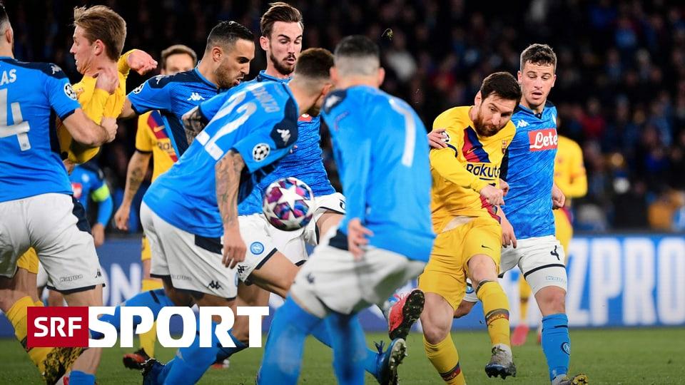 Barcelona Gegen Napoli