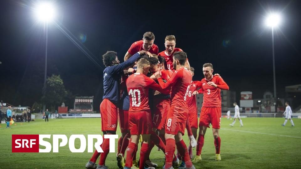 EM-Quali gegen Georgien - Lotomba schiesst die Schweizer U21 doch noch zum Sieg