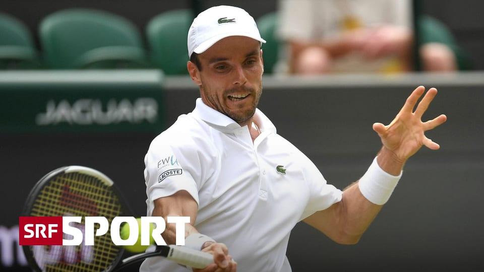 Timing eines Tiefstaplers - Bautista Agut: Wimbledon-Halbfinal statt Polterabend