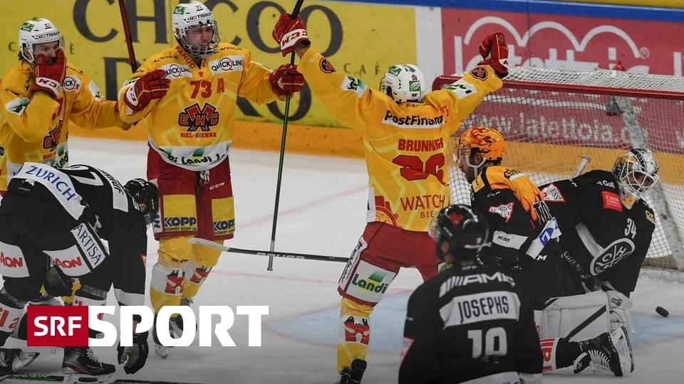 Brunner skort 3, Fazzini 2 Mal - Biel entscheidet umkämpfte Partie in Lugano im Schlussdrittel