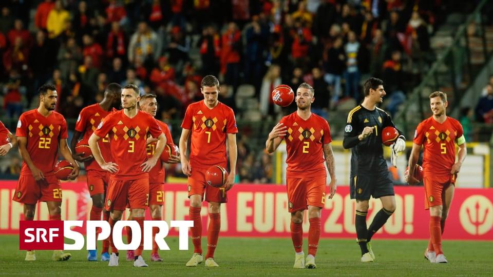 Niederlande in extremis - Belgien als erstes Team für die EM 2020 qualifiziert