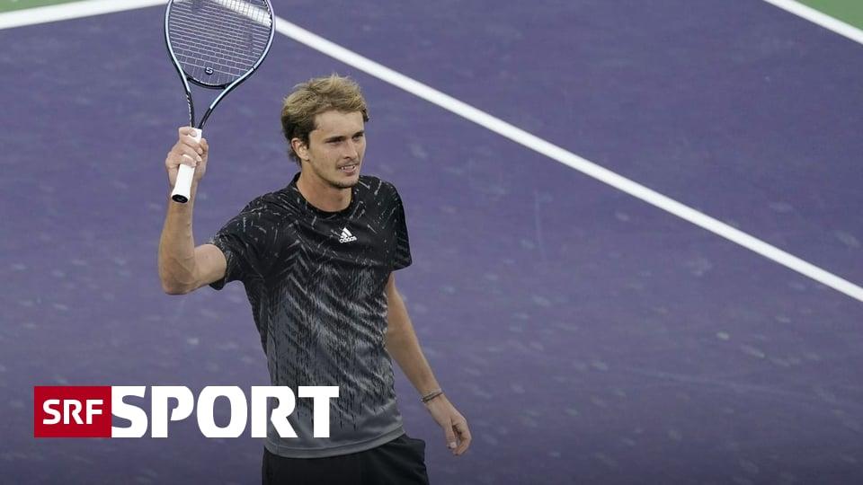 Turnier in Indian Wells - Zverev bezwingt Murray und macht aus ihm ein schlechtes Vorbild