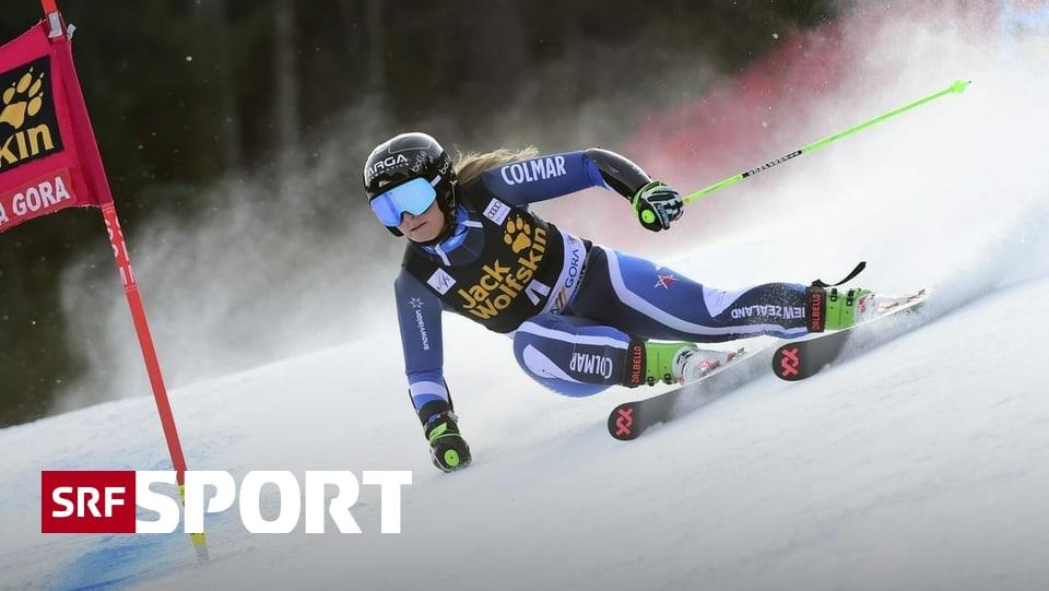 Riesenslalom in Kranjska Gora - Robinson feiert 2. Weltcup-Triumph – Holdener auf dem Podest