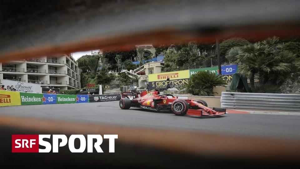 Startaufstellung Monaco 2021