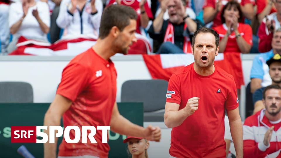 News aus dem Tennis - Lüthi setzt im Davis Cup gegen Peru auf bewährte Kräfte