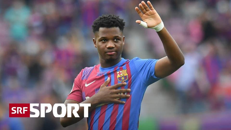 Fussball aus den Topligen - Fati erfüllt Hoffnung der Barça-Fans