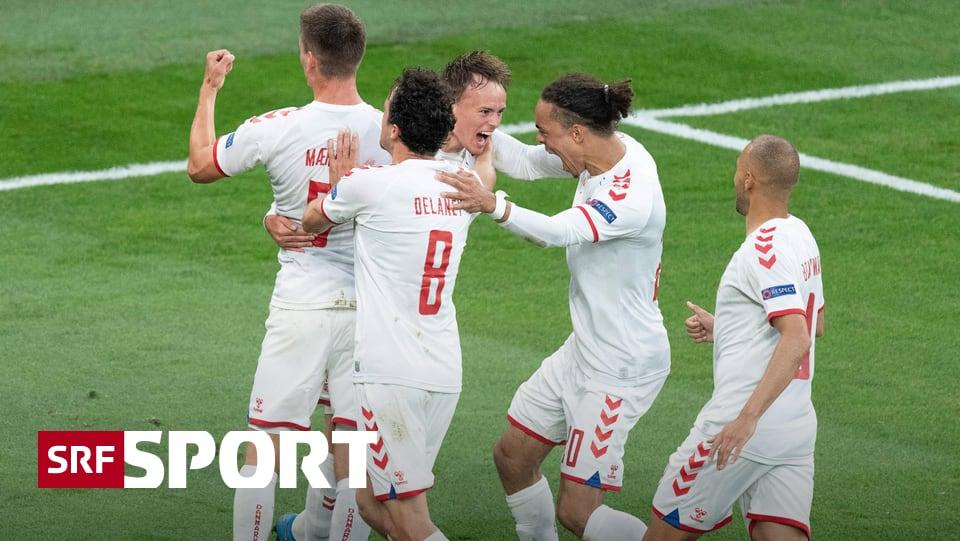 Klarer Erfolg gegen Russland - Happy End für Dänemark: Dank erstem Sieg im Achtelfinal