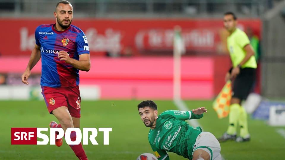 Basel neuer Leader - Cabral führt FCB mit Doublette zum Sieg in St. Gallen