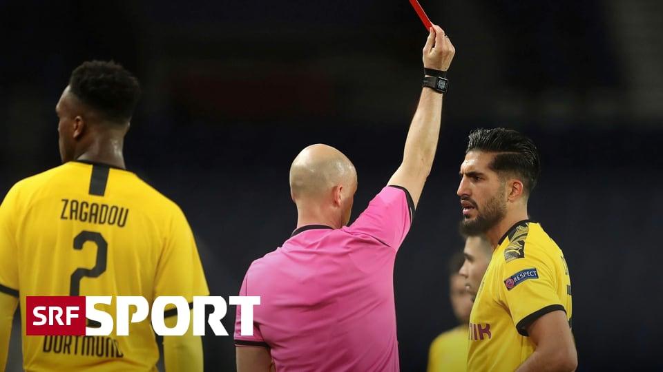 News aus dem Fussball - Dortmunds Can nach Rot in Paris gesperrt