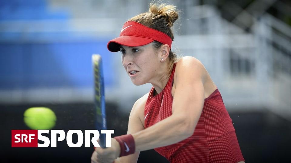 Tennis-Einzel bei Olympia - Nach Dreisatz-Fight: Bencic spielt um die Medaillen