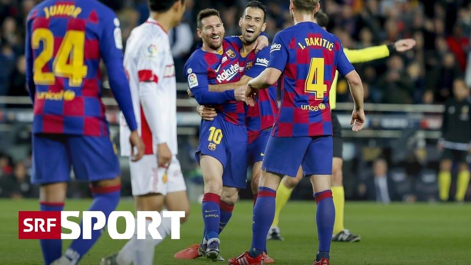 Fussball aus den Topligen - Barça und Real top, Juve flop
