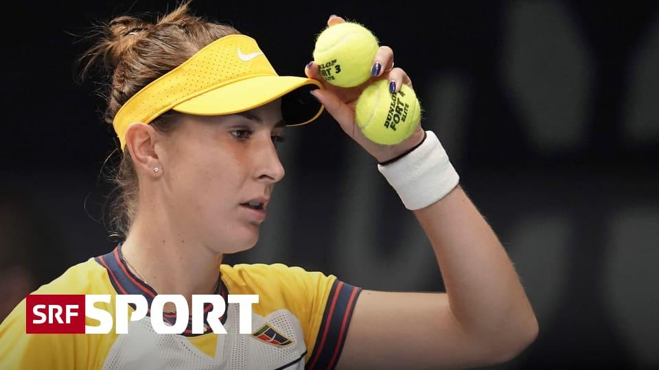WTA-250-Turnier in Luxemburg - Bencic gegen Samsonowa chancenlos