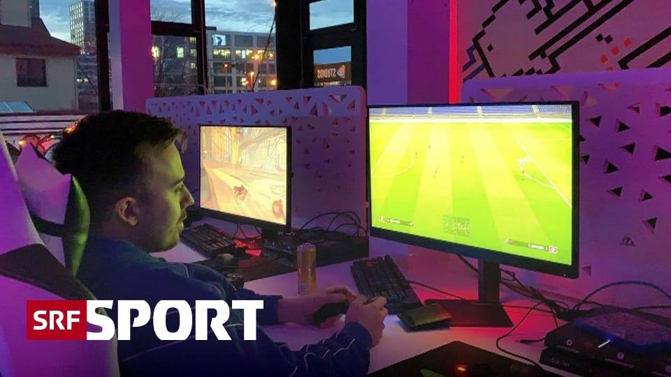 E-Sport bei SRF - Virtuelle Duelle Schweiz - Portugal am Montag live