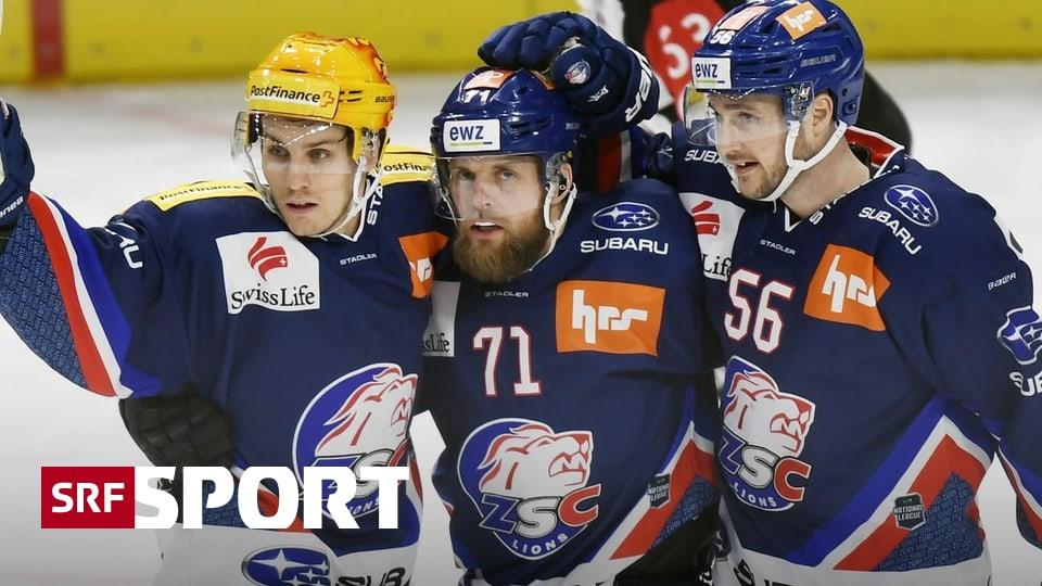5:2-Sieg gegen Biel - ZSC Lions dank Schweden-Power auf Platz 2