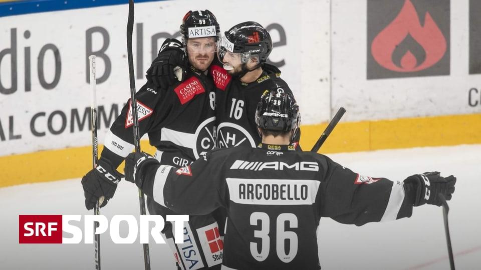 Round-up National League - Lugano stoppt Zuger Siegesserie - Tigers mit grosser Wende