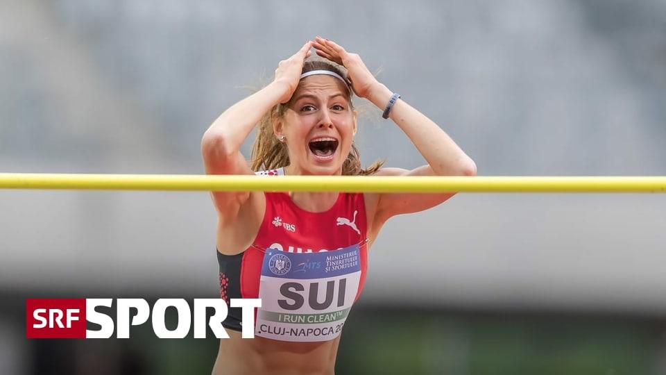 Highlight im Hochsprung - Salome Lang glänzt mit Schweizer Rekord und Olympia-Limite