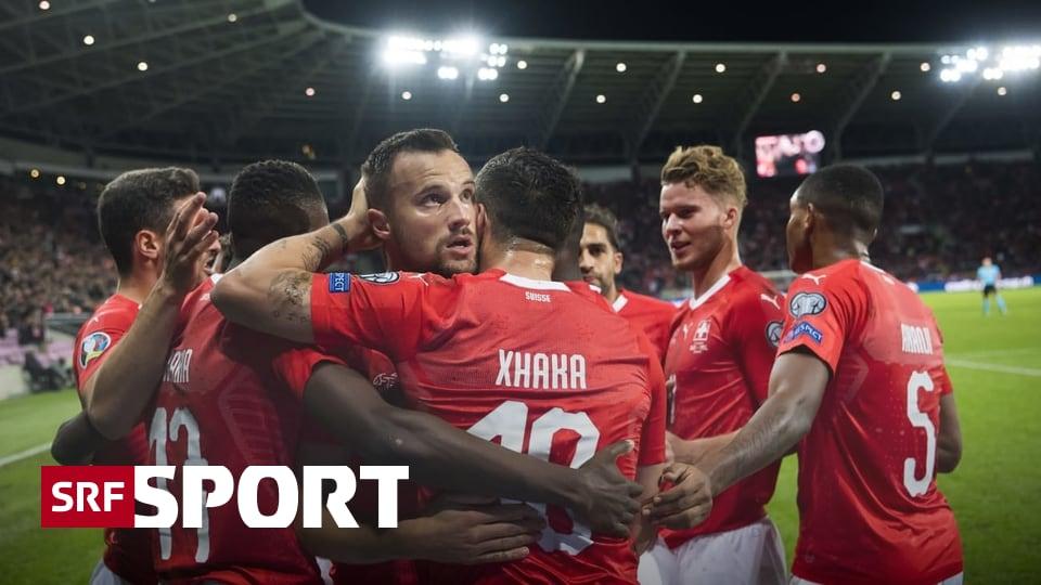 Nach 2:0-Sieg gegen Irland - Schweizer Nati hat das EM-Ticket weiter in den eigenen Füssen